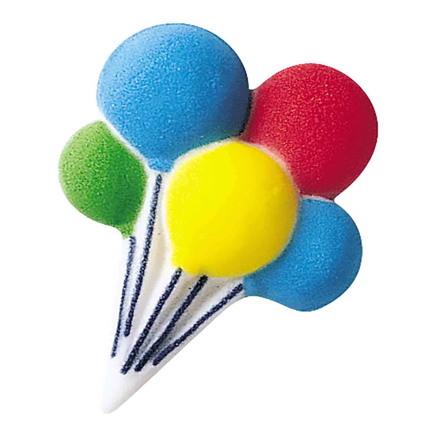 Dec-Ons® Molded Sugar - Balloon Clusters