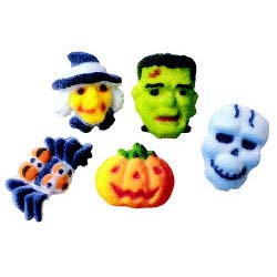 Dec-Ons® Molded Sugar -  Halloween Mini Assortment