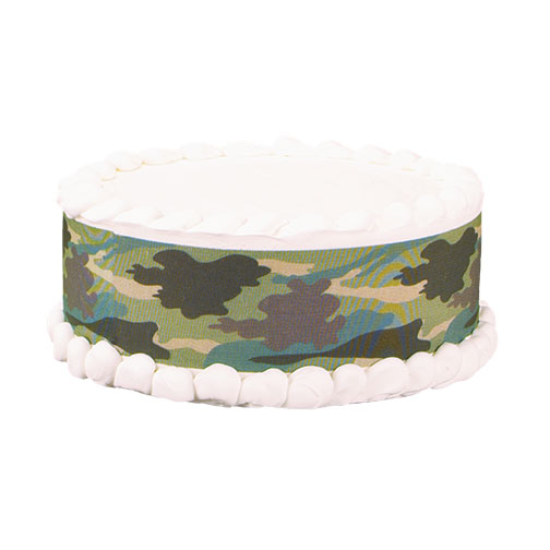 Edible Image® Designer Prints™- Jungle Camo