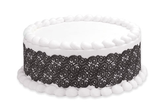 Edible Image® Designer Prints™- Black Lace