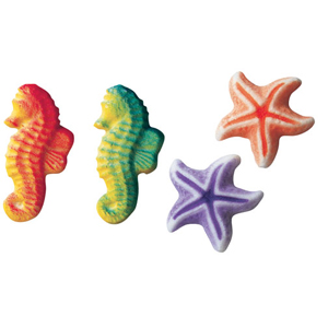 Dec-Ons® Molded Sugar - Sea Assortment