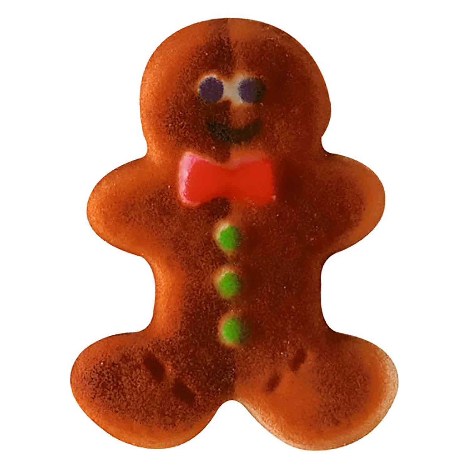 Dec-Ons® Molded Sugar - Gingerbread Man Sugar Layons