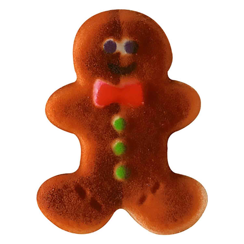 Dec-Ons® Molded Sugar - Gingerbread Man Sugar Layons