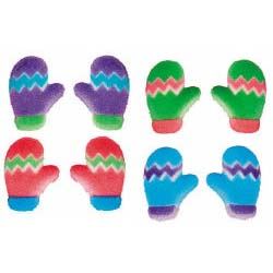 Dec-Ons® Molded Sugar - Mitten Assortment