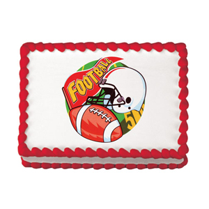 Edible Image® - Football Fan