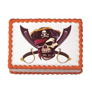 Edible Image® - Pirate Skull