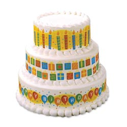 Edible Image® Designer Prints™- Birthday