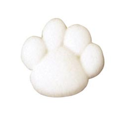 Dec-Ons® Molded Sugar - Paw Prints