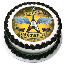 Edible Image® - Rock Star Birthday