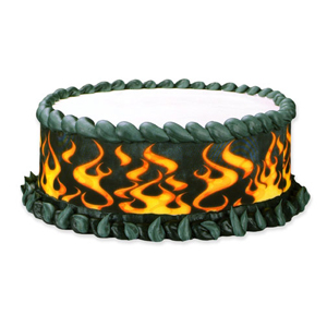 Edible Image® Designer Prints™- Flames