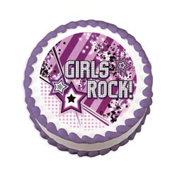 Edible Image® - Girls Rock