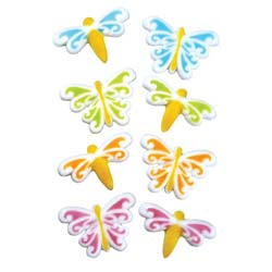 Dec-Ons® Molded Sugar - Butterfly Dragonfly Assortment