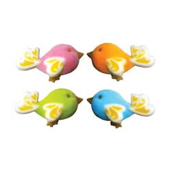Dec-Ons® Molded Sugar - Birds of Fancy Assortment