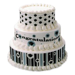 Edible Image® Designer Prints™- Hats Off Graduate