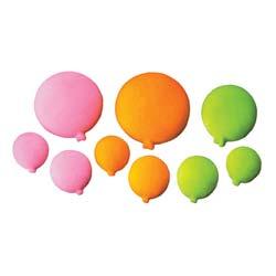 Dec-Ons® Molded Sugar - Bright Balloons Assortment