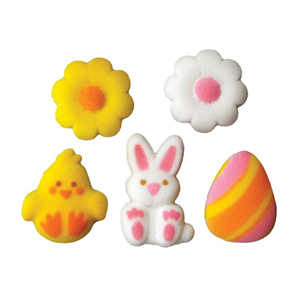 Dec-Ons® Molded Sugar - Lovable Easter Assortment