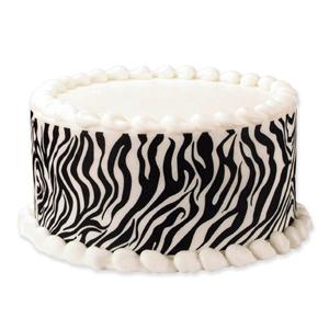 Edible Image® Designer Prints™- Zebra Tall