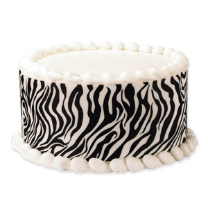 Edible Image® Designer Prints™- Zebra Tall