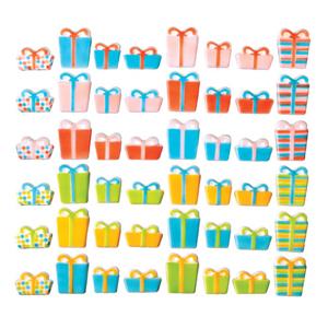 Dec-Ons® Molded Sugar - Birthday Presents