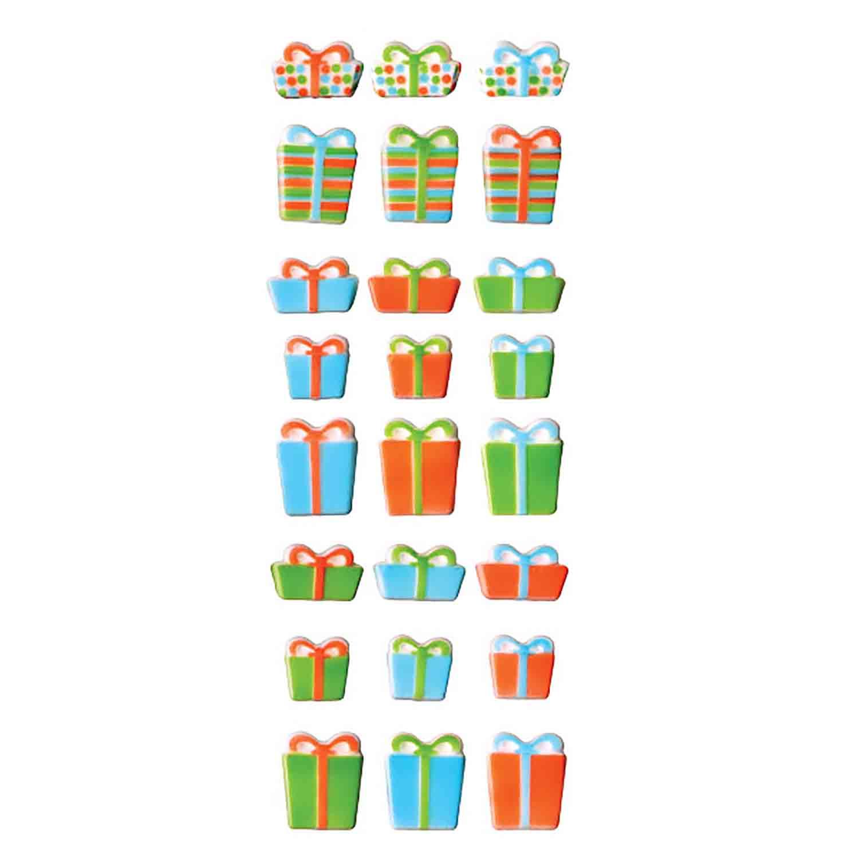 Dec-Ons® Molded Sugar - Christmas Presents