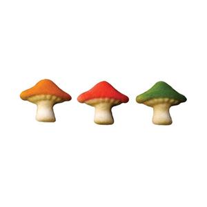 Dec-Ons® Molded Sugar - Mushroom