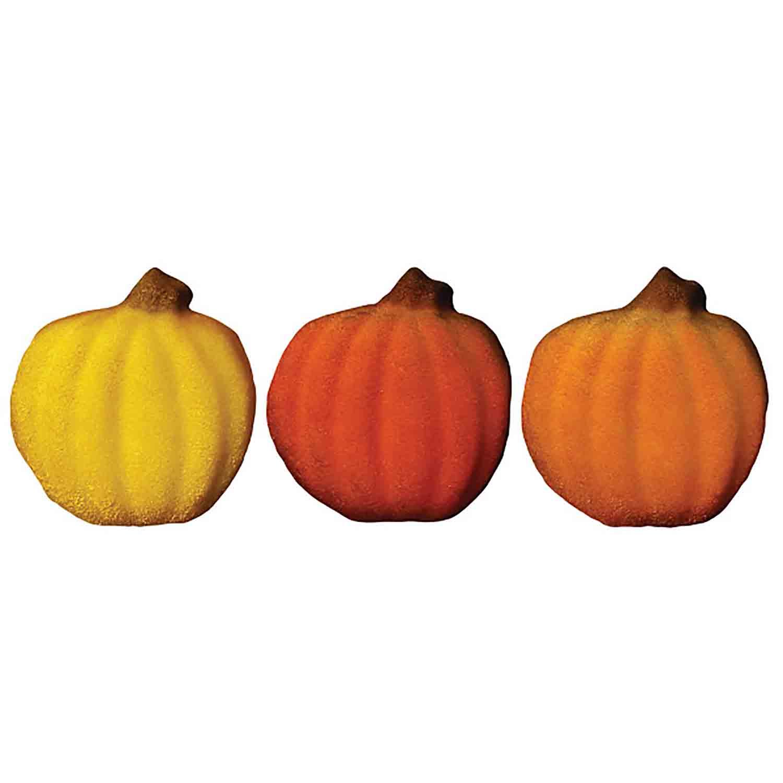 Dec-Ons® Molded Sugar - Pumpkin Assortment