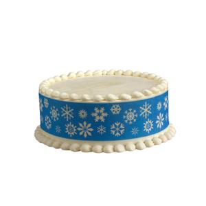 Edible Image® Designer Prints™- Snowflake