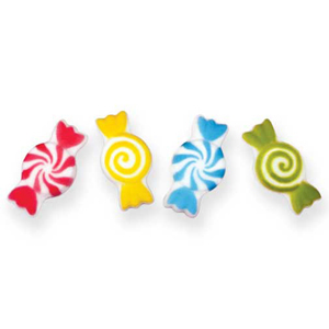 Dec-Ons® Molded Sugar - Candy Assortment