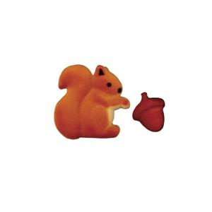 Dec-Ons® Molded Sugar - Squirrel & Acorn