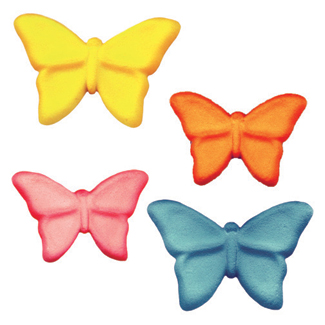 Dec-Ons® Molded Sugar - Butterfly Assortment