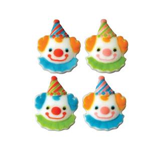 Dec-Ons® Molded Sugar - Clown Assortment