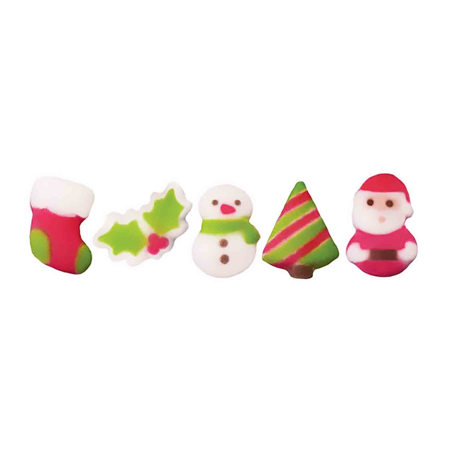 Dec-Ons® Molded Sugar - Christmas Cuties