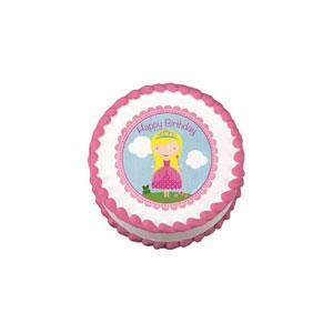 Edible Image® - Birthday Princess