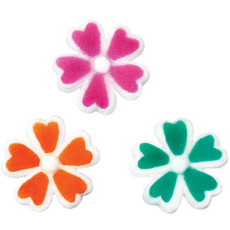 Dec-Ons® Molded Sugar - Woodland Flowers