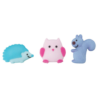 Dec-Ons® Molded Sugar - Happi Animal Assortment