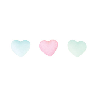 Dec-Ons® Molded Sugar - Dreamy Heart Charms