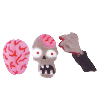 Dec-Ons® Molded Sugar - Zombie Attack Assortment