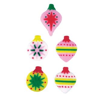 Dec-Ons® Molded Sugar - Classic Ornaments