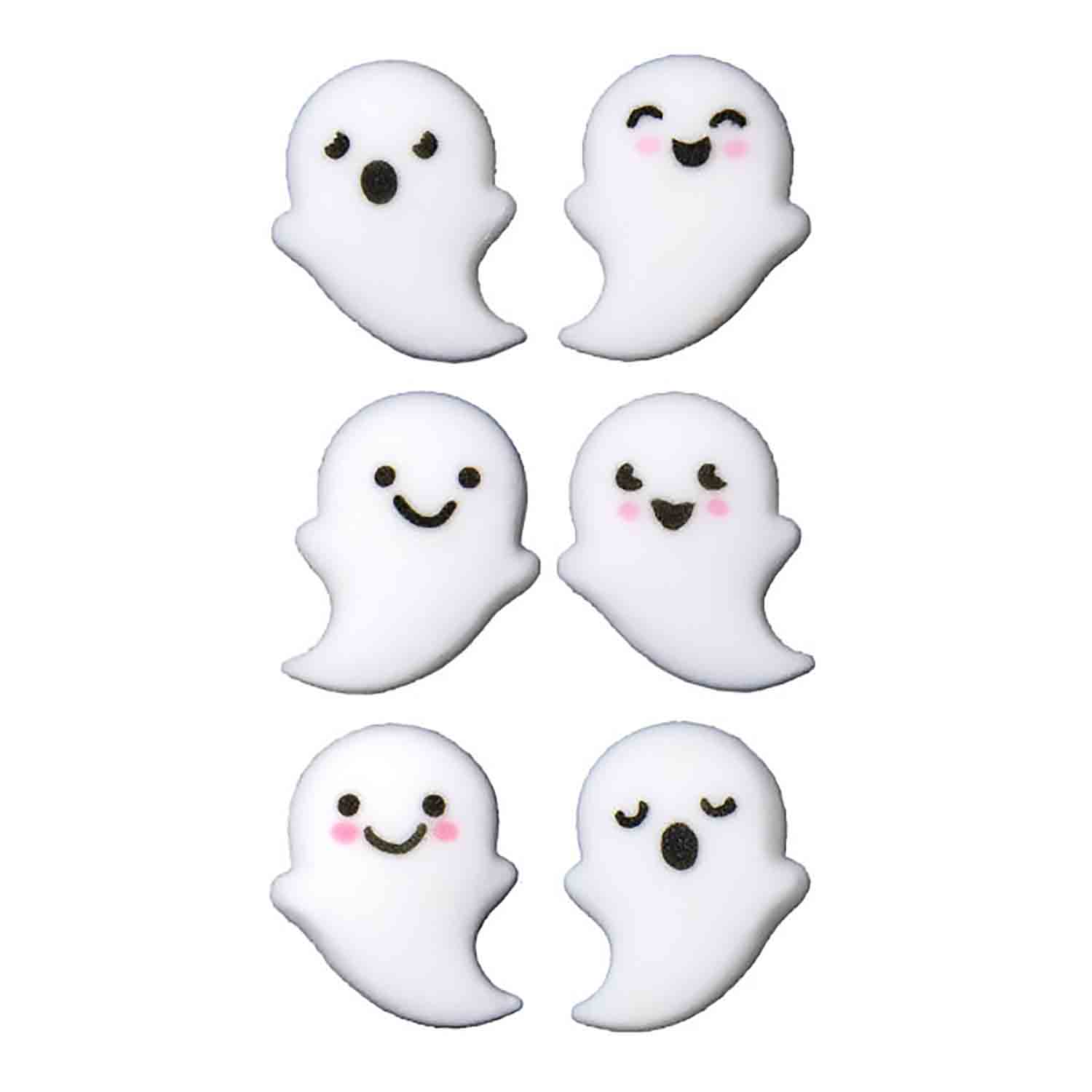 Dec-Ons® Molded Sugar - Ghost Buddies Assortment