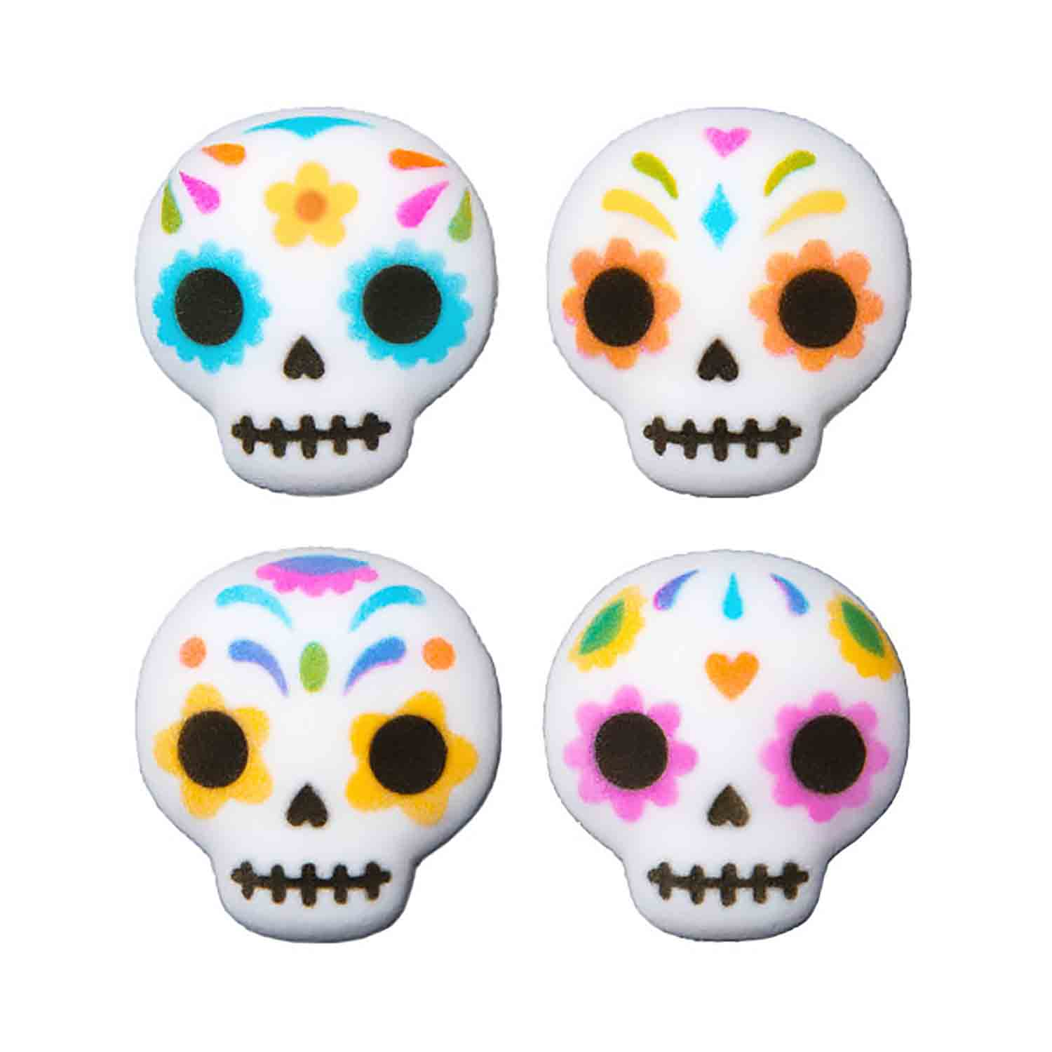 Dec-Ons® Molded Sugar - Day of the Dead Skull