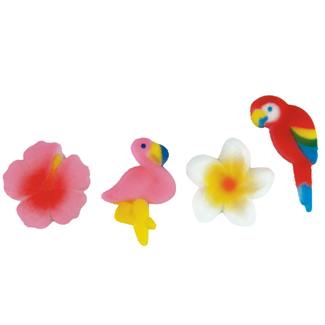 Dec-Ons® Molded Sugar - Birds and Blooms Assortment