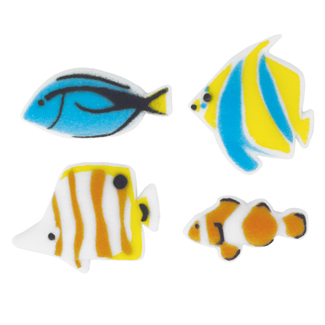 Dec-Ons® Molded Sugar - Reef Fish Assortment