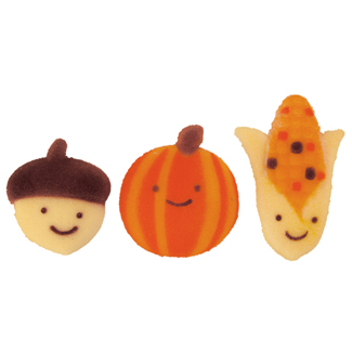 Dec-Ons® Molded Sugar - Autumn Friends Assortment