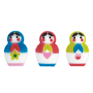 Dec-Ons® Molded Sugar - Matryoshka Dolls