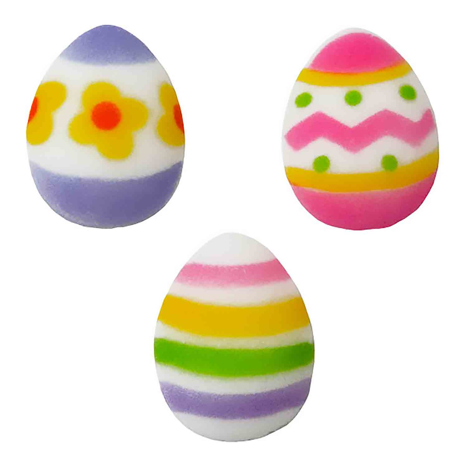 Dec-Ons® Molded Sugar - Easter Egg Assortment