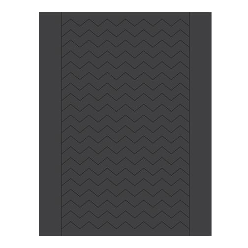 Sweet Shapes® Fondant Black Chevron Strips