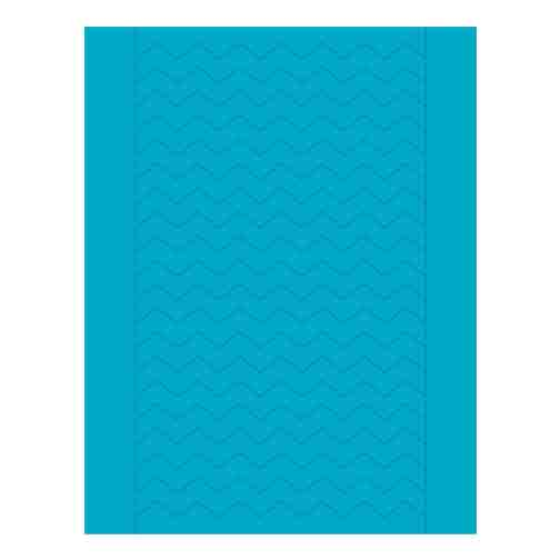 Sweet Shapes® Fondant Teal Chevron Strips