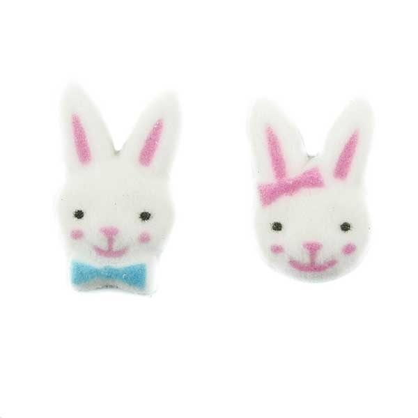 Dec-Ons® Molded Sugar - Bunny Boy & Girl Assortment
