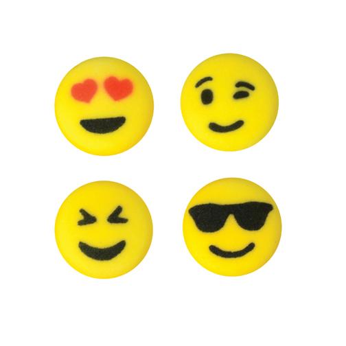 Dec-Ons® Molded Sugar - Emoji Assortment