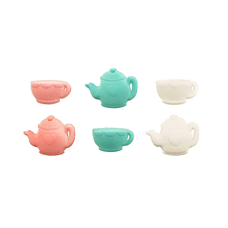 Dec-Ons® Molded Sugar - Tea Party Assortment